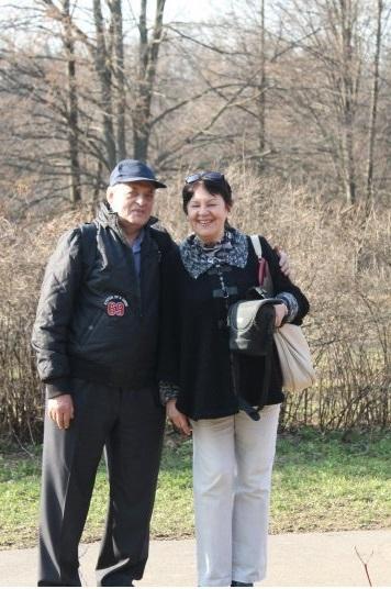 Михаил Печуро и его супруга Валентина (Москва).