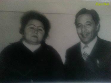 Суратда: Арслон Каримов ва Маргарита Каримова. Гулистон, 1973 йил